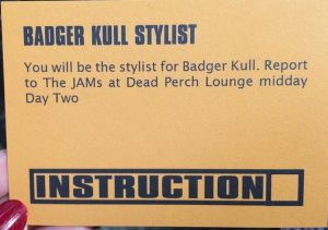 Badger Kull Stylist - Becci James