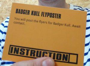 BadgerKull-Flyposter_AndrewLee
