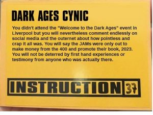 Dark Ages Cynic - Paul JaYmes