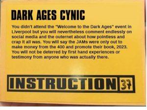 Dark Ages Cynic - Paul JaYmes
