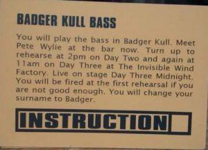 badger kull bass - Kristoffer Björkman
