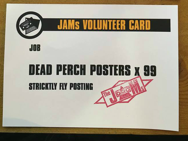 Dead Perch Posters x 99 - David Hopkinson