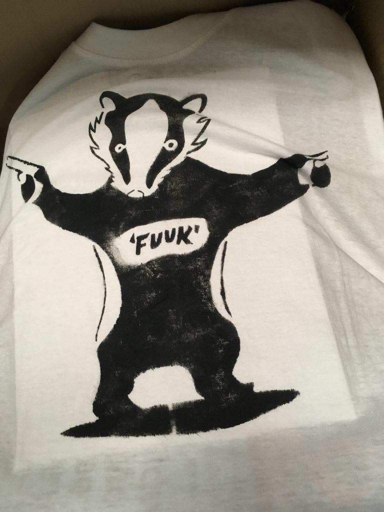 badger kull t shirt