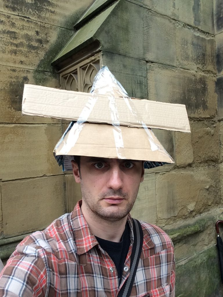 Pyramid Blaster Hat
